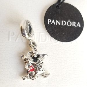 Pandora Mickey Mouse and Friends Charm  SILVER
